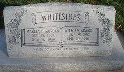 Mareta Harriet <i>Morgan</i> Whitesides
