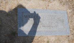 Maude Ester <i>Johnson</i> Addison
