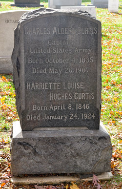 Harriette Louise <i>Hughes</i> Curtis