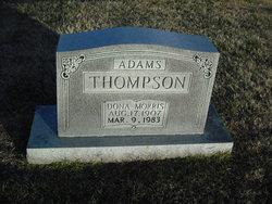 Dona <i>Morris Thompson</i> Adams