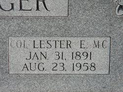 Col Lester Eastwood Beringer