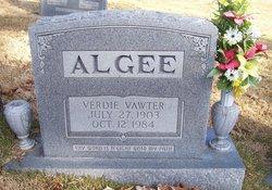 Verdie <i>Vawter</i> Algee