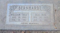 Ola Mae <i>Crandell</i> Bernhardt