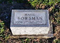 Marie Bowsman