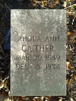 Rhoda Ann Gaither