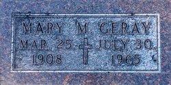 Mary Margaret <i>Kaster</i> Geray