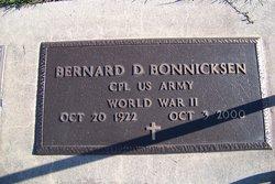 Bernard Donald Bonnicksen