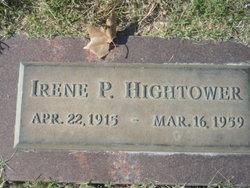 Mrs Irene Lavinia <i>Puryear</i> Hightower