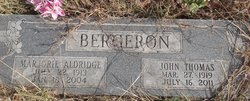 John Thomas Johnie Bergeron