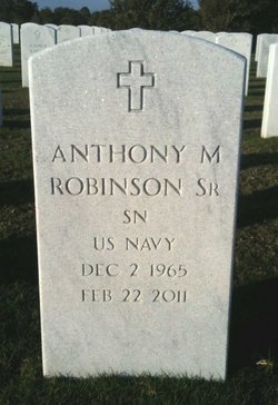 Anthony McNeal Robinson, Sr