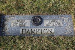 Emily Ada <i>Hayes</i> Hampton