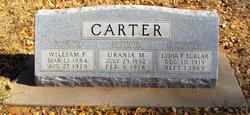 Urania M Carter