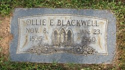 Ollie E. Blackwell