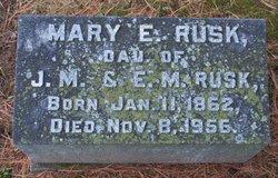 Mary E. Rusk