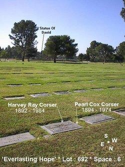 Pearl Mae Lillian <i>Cox</i> Corser