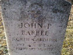 John F Barbee