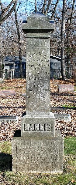 Louisa F. <i>Klinger</i> Bareis