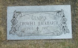 Gladys Evelyn <i>Larson</i> Hackbarth