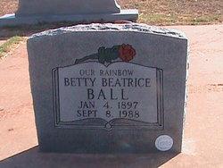 Betty Beatrice <i>Wadkins</i> Ball