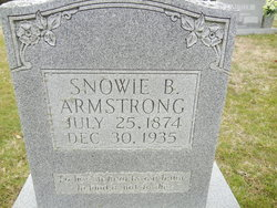 Snowie <i>Bryant</i> Armstrong