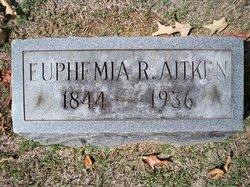 Euphemia R Aitken