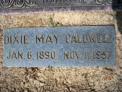 Dixie May <i>Zinn</i> Caldwell