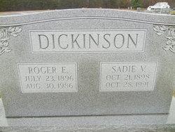 Sadie V <i>Armstrong</i> Dickinson