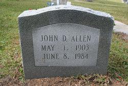 John D Allen