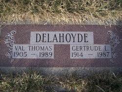 Val Thomas Delahoyde