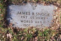 Pvt James R Snook