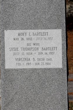 Susie <i>Thompson</i> Bartlett