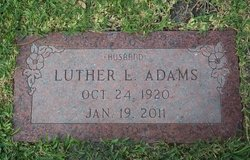 Luther L Adams