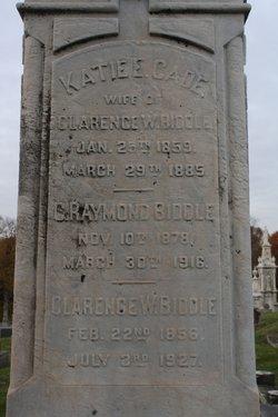 C. Raymond Biddle