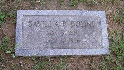 Savilla <i>Robeson</i> Bohne