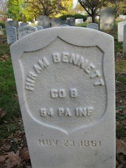 Pvt Hiram Bennett