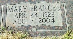 Mary Frances <i>Carter</i> Bridwell