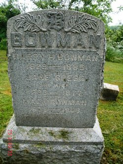 Jane <i>Gregg</i> Bowman