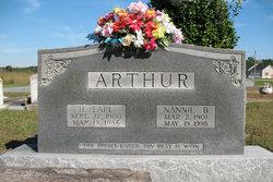 Nannie B. <i>Piver</i> Arthur