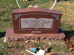 Lucy <i>Stewart</i> Abrams