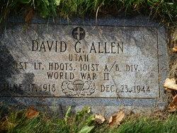 Lieut David Grayson Allen