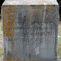 Henry P Saunders