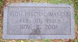 Ruth <i>Paschal</i> Maness