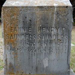 Frances Fannie <i>Fulenchek</i> Saunders