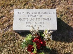 James Ervin Blackstock, Jr