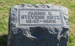 Fannie E <i>Stevens</i> Entz