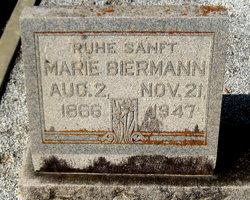 Maria <i>Schmidt</i> Biermann