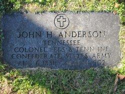 Col John Hansford Anderson