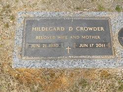 Hildegard D Crowder