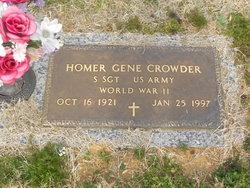 Homer Gene Crowder