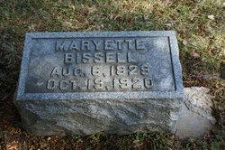 Maryette <i>Densmore</i> Bissell